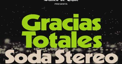 Lo adelantamos, Gracias Totales-Soda Stereo histórica celebración