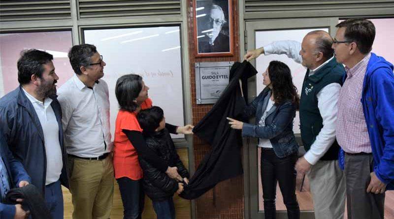 Inauguran Sala en memoria del destacado escritor temuquense Guido Eytel