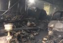 Atentado incendiario afectó a galpón con vehículos motorizados y acuáticos en Licanray