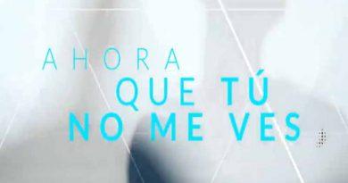 """Alex Ubago nos presenta su nuevo single """"Ahora que tu no me ves"""""""