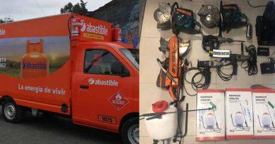 PDI recupera camión distribuidor de gas y cilindros sustraídos en Padre Las Casas