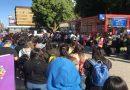 Familia de Antonia se reunió en plaza de Temuco en el día de su cumpleaños