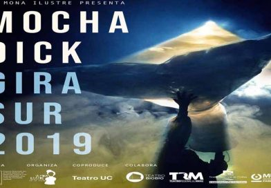 """Obra """"Mocha Dick"""" gira por el sur: la mítica ballena blanca navega rumbo a su origen"""
