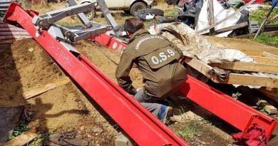 OS-9 recuperó costosa maquinaria sustraídas en Temuco y Padre Las Casas