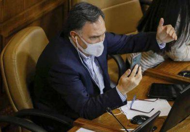 Diputado Mellado fiscaliza condiciones en que carabineros cumplen  medidas de protección