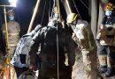 Brigada de Homicidios Temuco realiza diligencias por hallazgo de cadáver en Collipulli