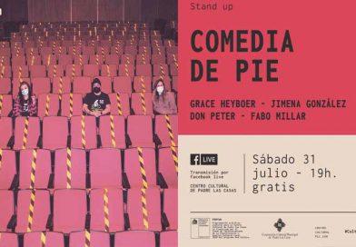 """""""Comedia de Pie"""" presenta show de stand up desde el Centro Cultural de Padre Las Casas"""